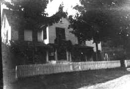 The Miller's House in the 1880's